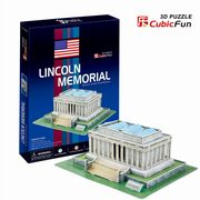 Puzzle 3D Lincoln Memorial 41,