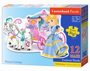 Puzzle MAXI Konturowe: Princess Carriage 12,
