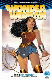 Wonder Woman Tom 2 Rok pierwszy, Rucka Greg, Scott Nicola, FajardoJr. Romulo